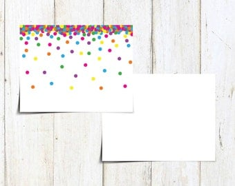Raining Rainbows General Notecard - All Occasion