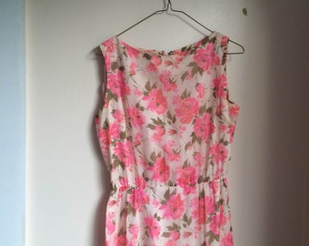 Vintage Jonathan Logan Floral Dress