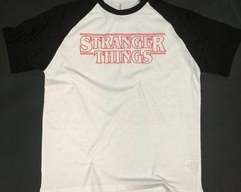 Stranger Things Inspired BASEBALL T-Shirt
