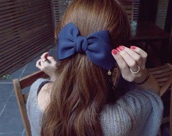 Cute Large Cloth Bows Hair Clips Hair Accessories