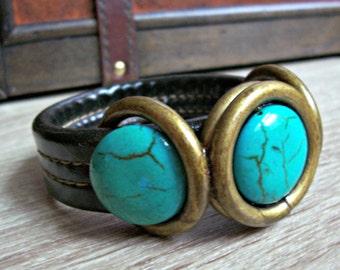 Purse Bracelet - Upcycled/Found Object Jewelry