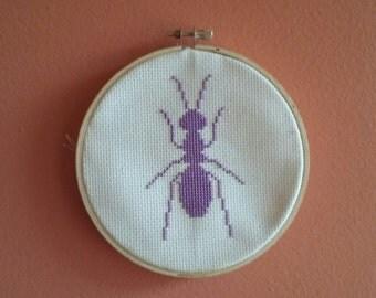 Ant Cross Stitch