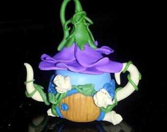 Fairy House Teapot Miniature