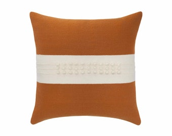 Cilla pillows (rust)