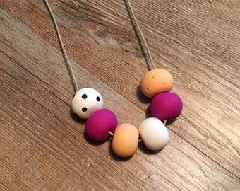 Poylmer Clay Necklace
