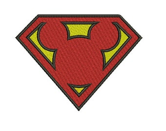 12 size - super mickey mouse Embroidery Design Instant Download - no applique-