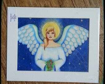 ANGEL - (an original,  not a print)