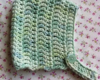 Crochet Vintage Style Baby Pixie Hat
