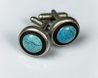 Cufflinks > Mosaic Jewelry