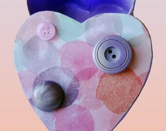 Heart Shaped small Trinket Box