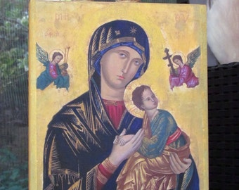 Our Lady of Perpetual Help  -  YELLOW