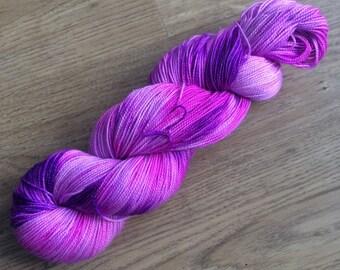 SALE 100g sparkly merino/nylon sock yarn