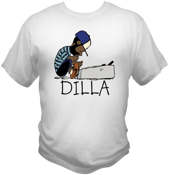 J Dilla white T-Shirt Doughnuts Shining Graphic Tee Toddler, Youth, Adult