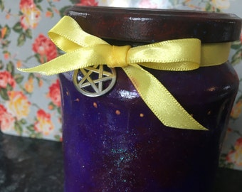 Pentacle Jar • Witchcraft • Pagan