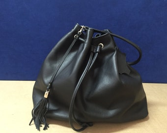 Leather bag purse