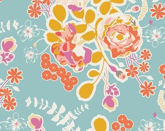 Spring Harvest Fabric by Art Gallery Fabrics. Cotton Fabric. Fabric by the Yard. Fat Quarter. You Choose the Cut.