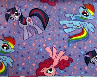 My Little Pony Fabric by Srings Creative