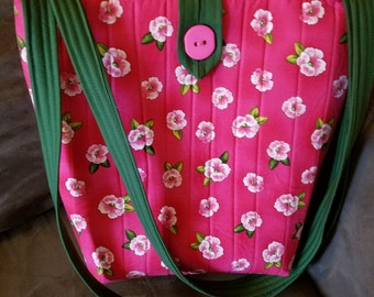 Rose Flower Tote