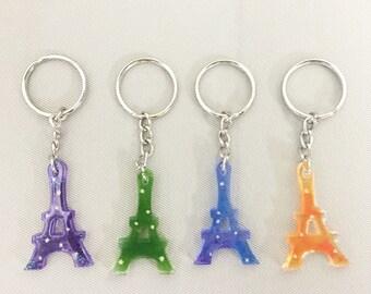 La Tour Eiffel with Okinawa Star sand keychain