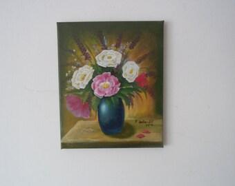 Flower bouquet still life