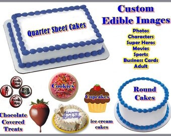 Custom Edible Images Cakes, Cookies, Cupcakes and More