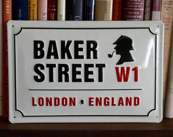 Baker Street Sign (Sherlock Holmes)