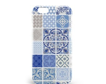 Patchwork iPhone 6 Case iPhone 6s Plus Case Indigo Case iPhone 5s Patchwork Case iPhone SE Patchwork Case Cover iPhone 5 Case