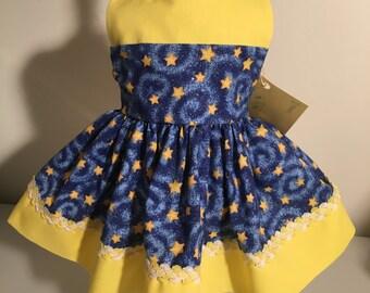 American Girl Doll Dress-Stars