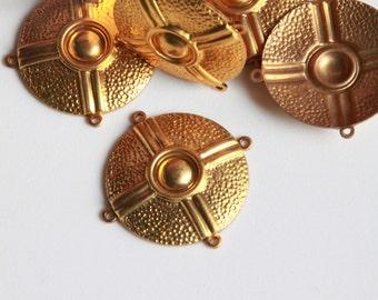 Metal Golden Button Stamping