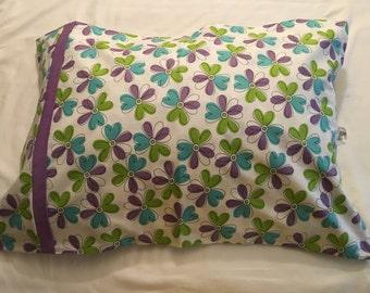 Kids flower pillowcase