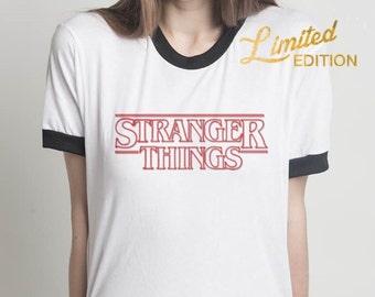 Stranger Things Shirt, Stranger Things Ringer Tee