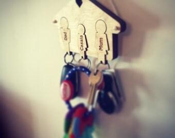 Customised Family Key Rack