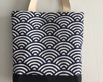 Medium Size Day Tote - Wind (Fully Lined)