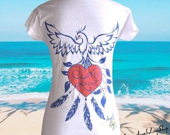 Phoenix Love Art T-shirt