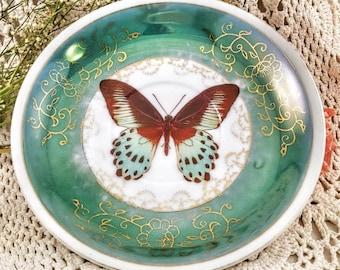 Saucer Butterfly Green