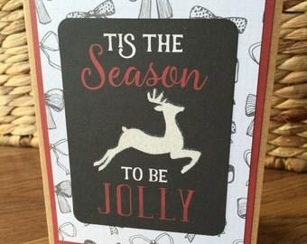 Tis The Season - holiday/Christmas Card