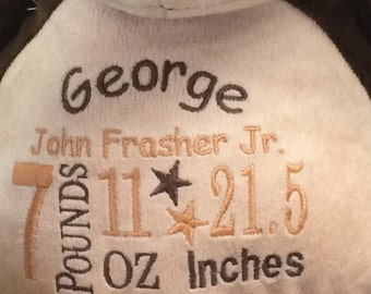 Personalized Keepsake Stuffed Animal
