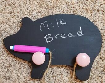 Chalkboard Pig