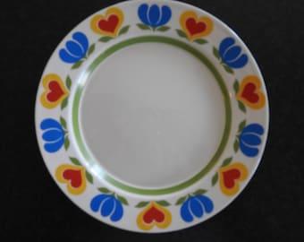 Arabia Finland KÖNNI plate 20cm,  Olga Oson
