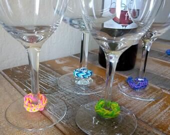 Wine Glass Charms - Set of 4
