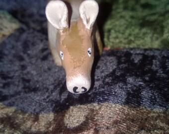 Polymer Clay Totem Talisman Animal Figure Aardvark