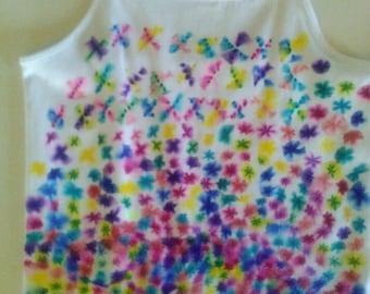 Girls Large Tie Dye Top