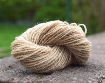 Naturally dyed yarn - Dock Leaves