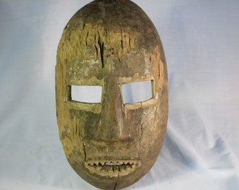 African tribal art mask-LESE-DR CONGO