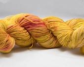 """Trendy Sock Yarn, """"Charmander""""  Handpainted Superwash Merino - 463 Yards (B)"""