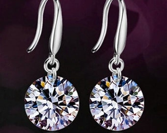Simply Perfect Silver Drop Earrings