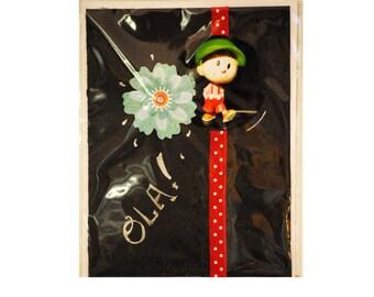 """""""Olà"""" greeting card"""