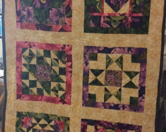 Flowers of Mystery Quilt