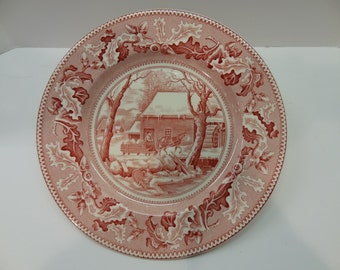 "HISTORIC AMERICA ""FROZEN"" dinner plate Johnson Bros."