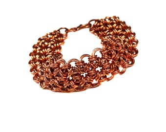 Japanese 6 in 1 Weave Chainmaille Bracelet